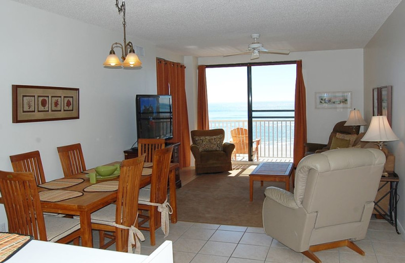 Rental living room at Anchor Vacations, Inc.