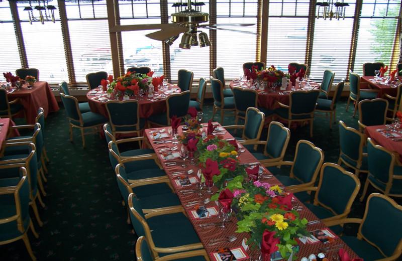 Wedding reception at The Geneva Inn.