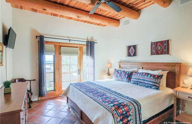 Rental bedroom at Vacation Rental Pros - Santa Fe.
