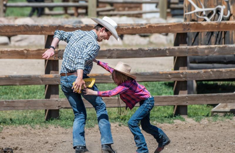 Ranch activities at Vista Verde Ranch.