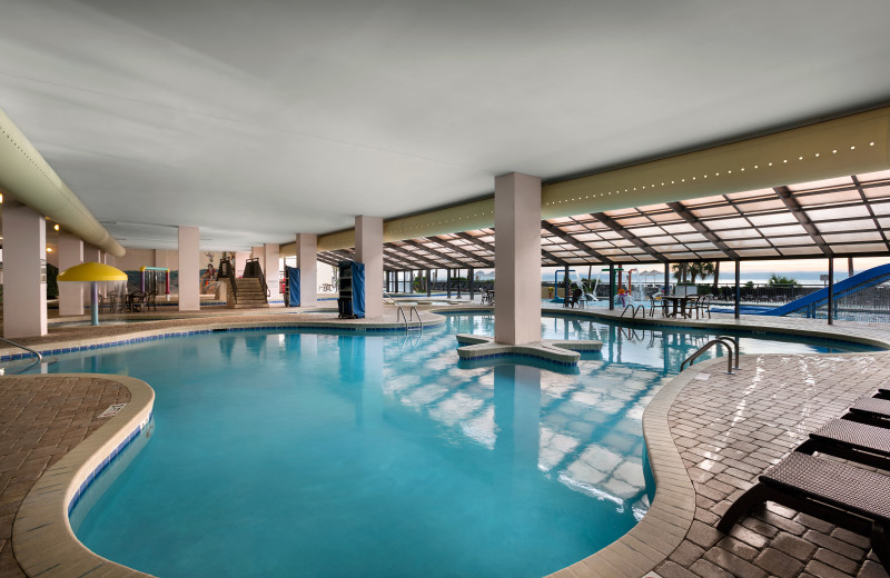Indoor pool at The Breakers Resort.