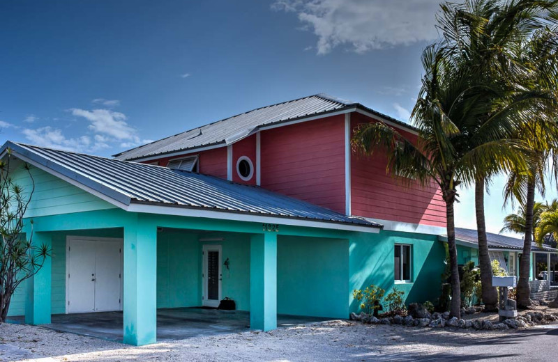 Rental exterior at Florida Keys Vacation Rentals.