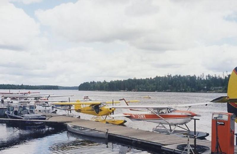 Seaplanes at Scott's Resort Seaplane Base.