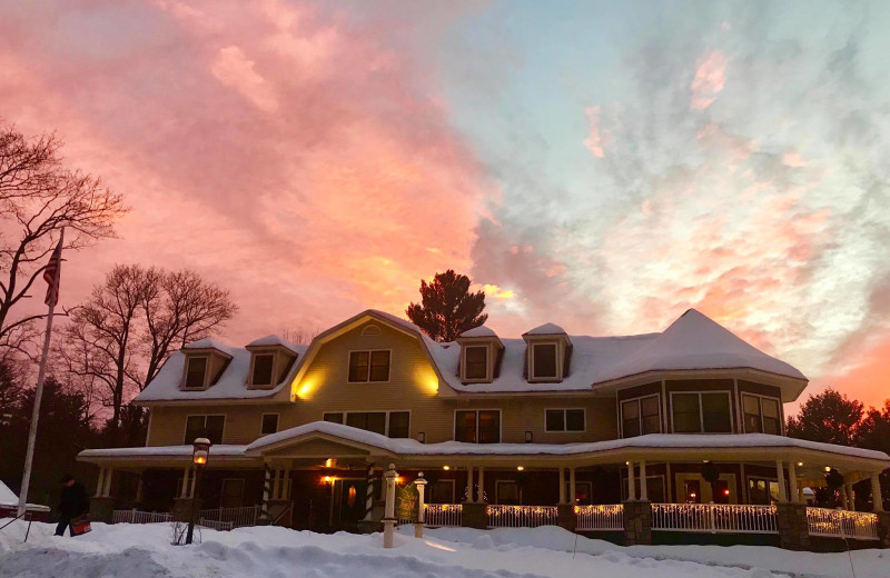 Winter at The Inn at Thorn Hill & Spa.