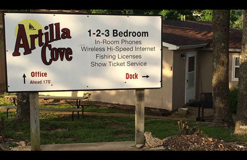 Welcome to Artilla Cove Resort.