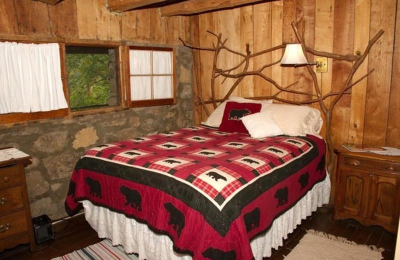 Guest Room at Smokey Shadow Lodge