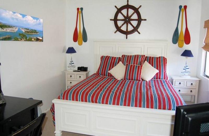Rental bedroom at Capistrano Realty.