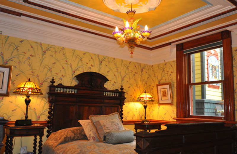 Guest room at Albion Manor.