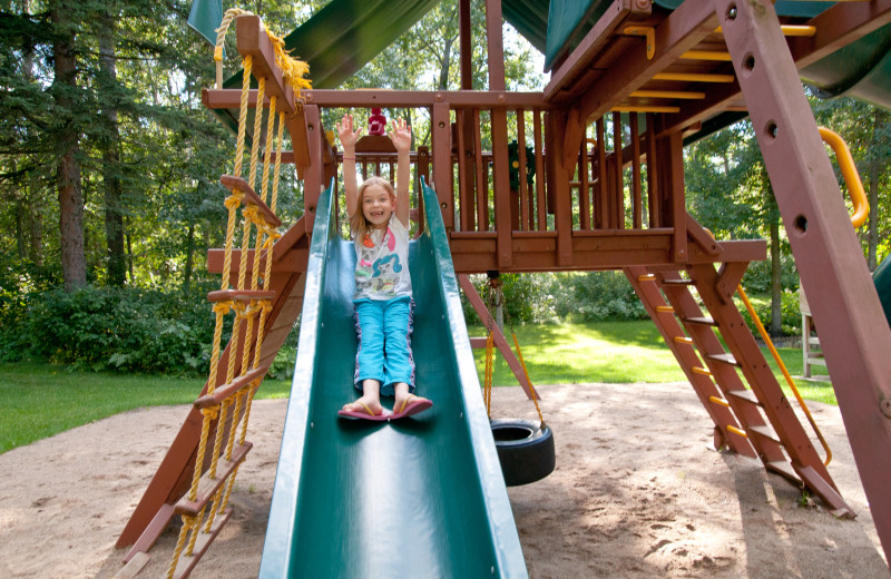 There are many things for kids to do at Half Moon Trail Resort, including a large playground.