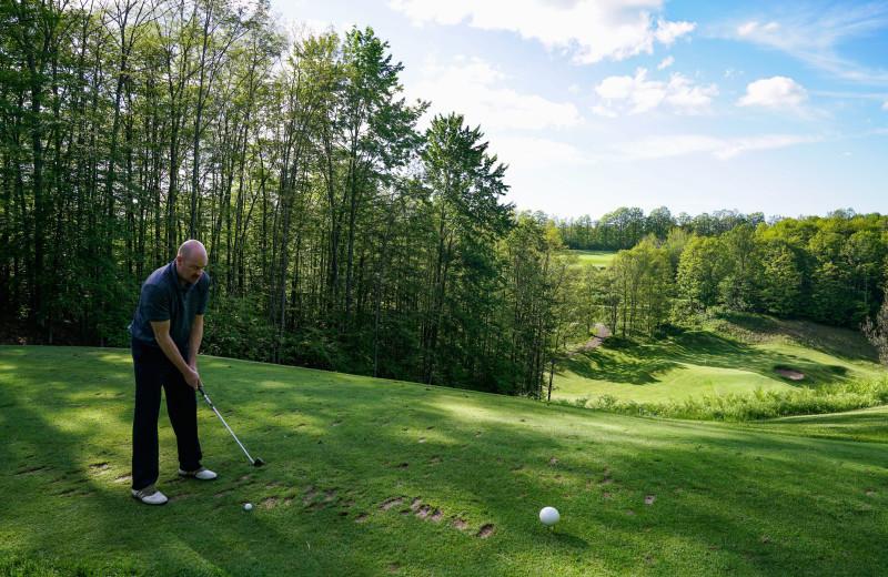 Golf at Treetops Resort.