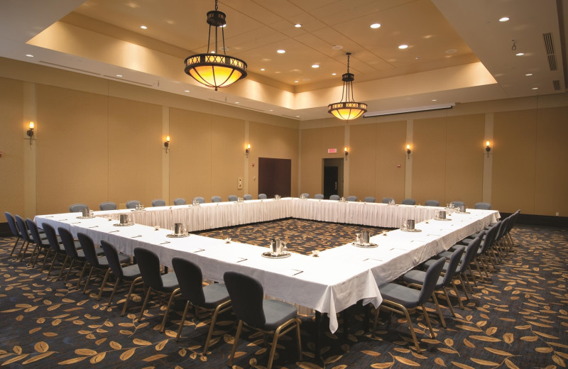 Meetings at Fairmont Le Chateau Montebello.