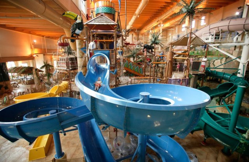 Indoor water park at Chula Vista Resort.