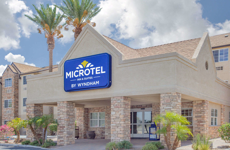 Exterior view of Microtel Inn & Suites Yuma.