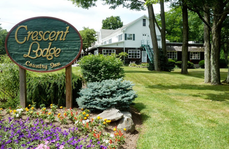 Exterior view of Crescent Lodge.