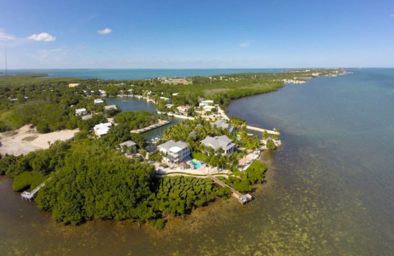 Aerial view of rental at Keys Holiday Rentals, Inc.