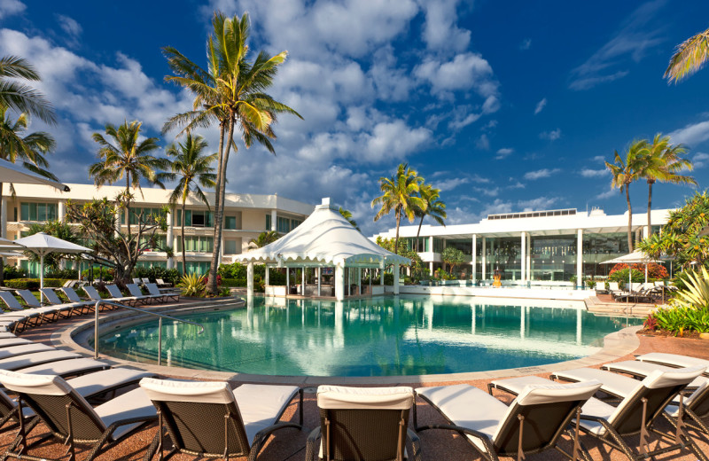 Outdoor pool at Sheraton Mirage Gold Coast Hotel.