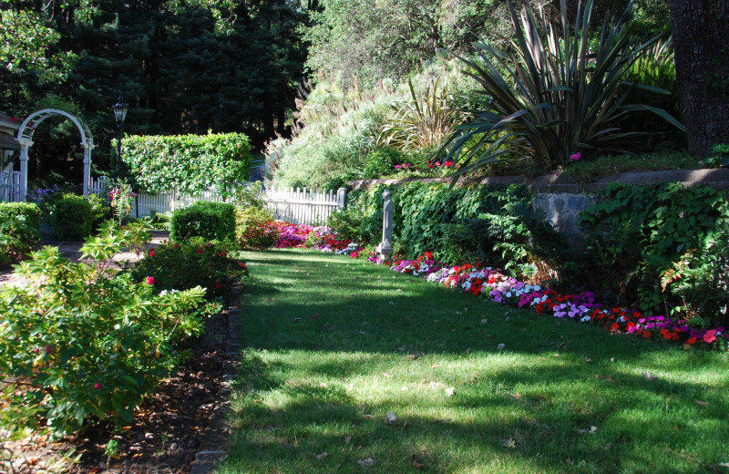 Garden at Gerstle Park Inn.