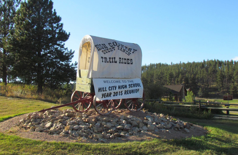 Class reunions at High Country Guest Ranch.