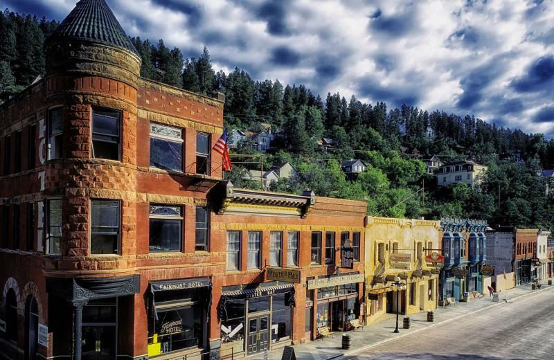 Town near Rushmore Express Inn