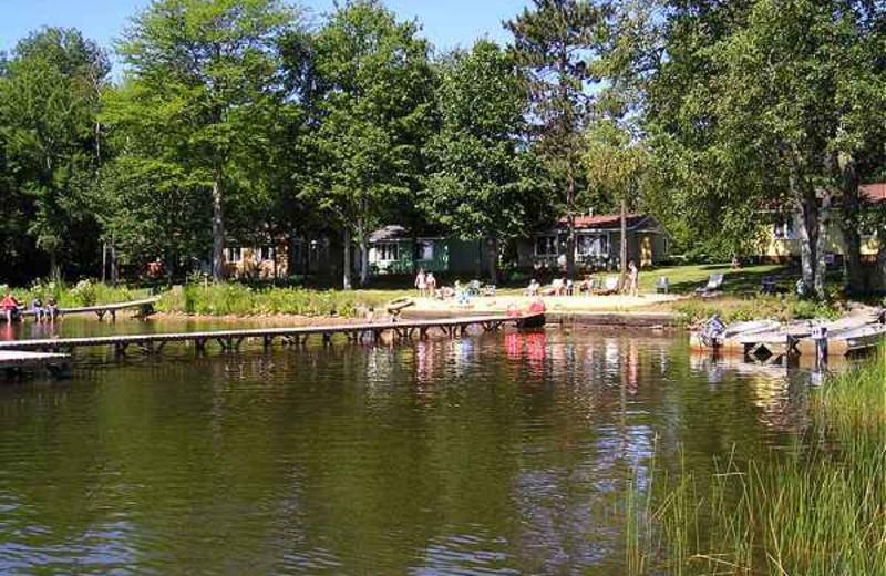 Lake Dock at Kafka's Resort