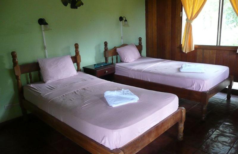 Guest room at La Laguna del Lagarto Lodge.