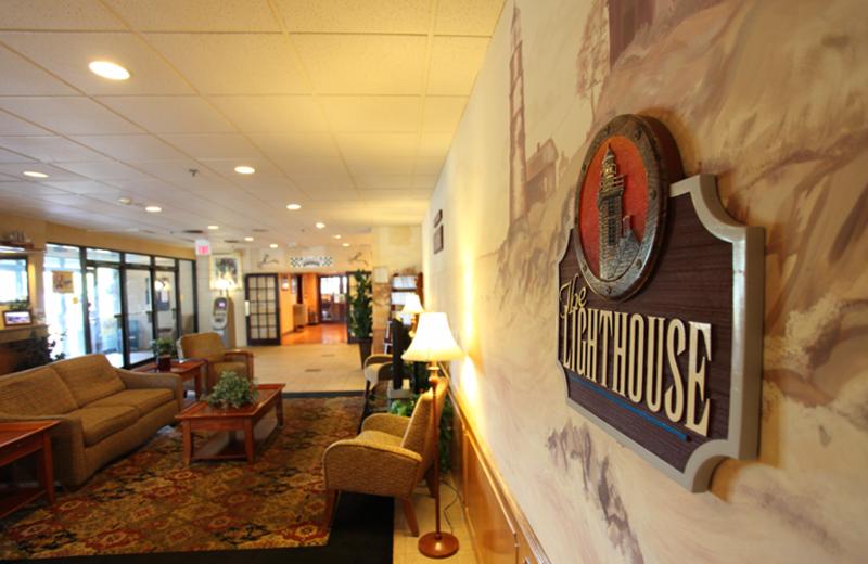 Lobby view at Harbor Shores.