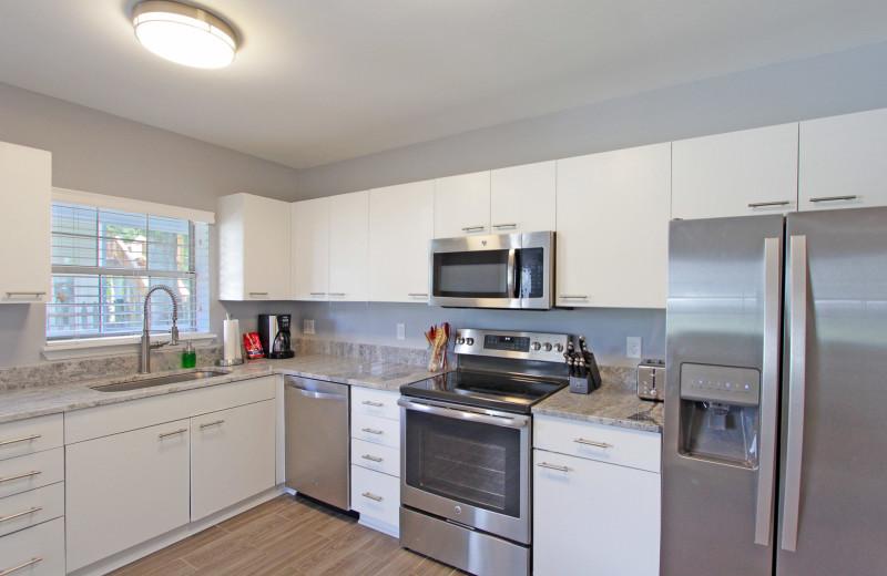 Kitchen at Palm Blvd 2403 Down.