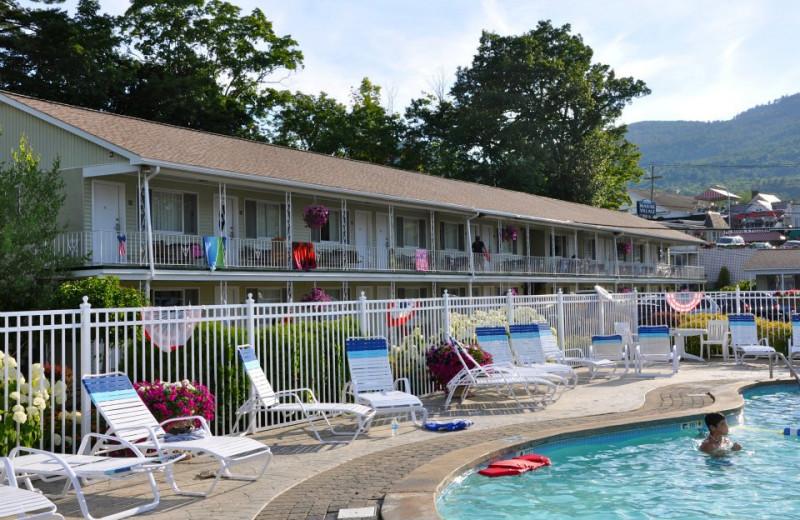 Exterior view of Marine Village Resort.