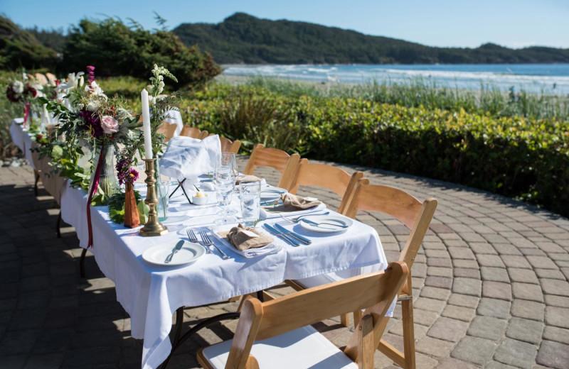 Wedding at Long Beach Lodge Resort.