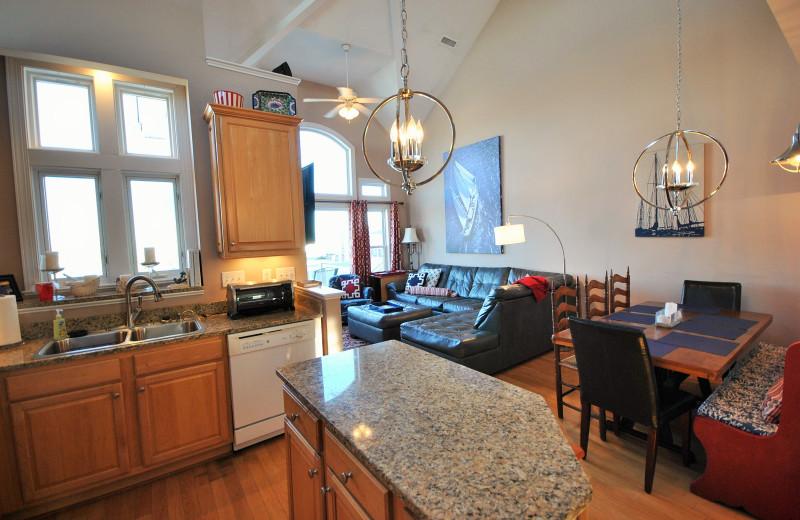 Rental interior at Access Realty Group.