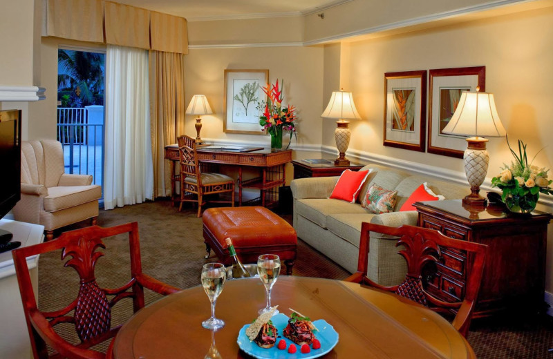 Executive suite at Lago Mar Resort and Club.