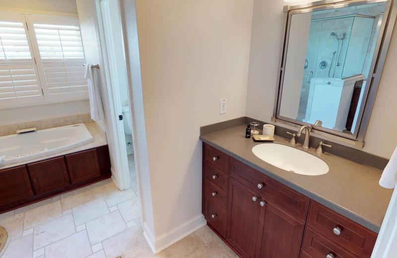 Bathroom at Ocean Blvd 702.