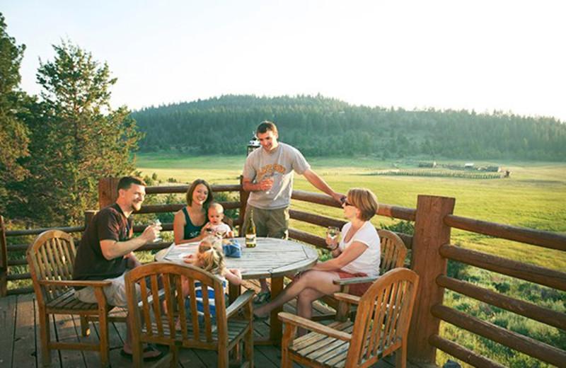 Family time at Aspen Ridge Resort.