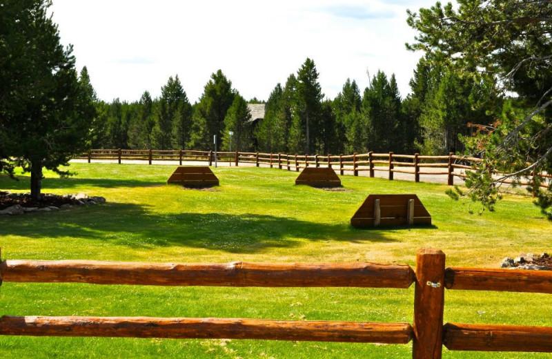 Grounds at Sawtelle Mountain Resort.