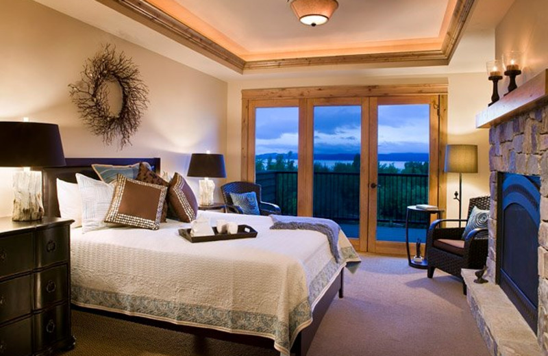 Guest room at Marina Cay Resort.