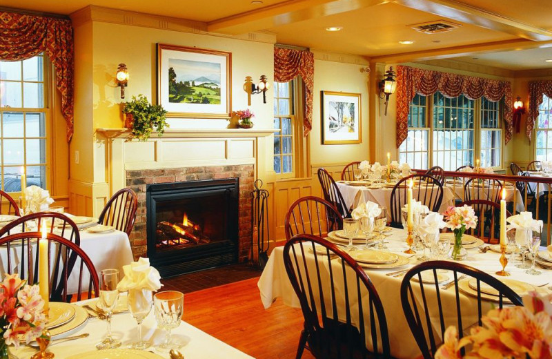 Dining at The Green Mountain Inn.