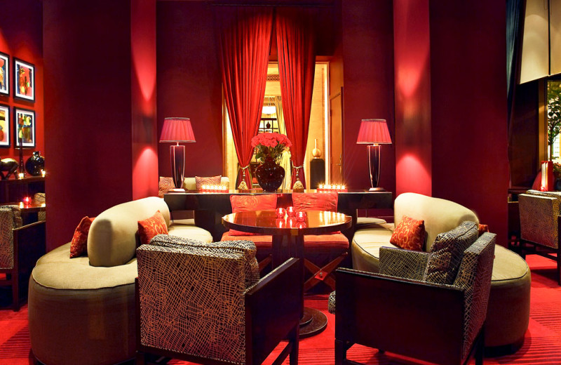 Lounge area at Sofitel Washington D.C. Lafayette Square.