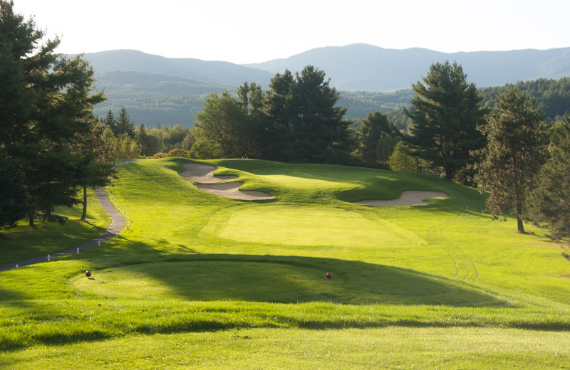 Golf near The Whiteface Lodge.