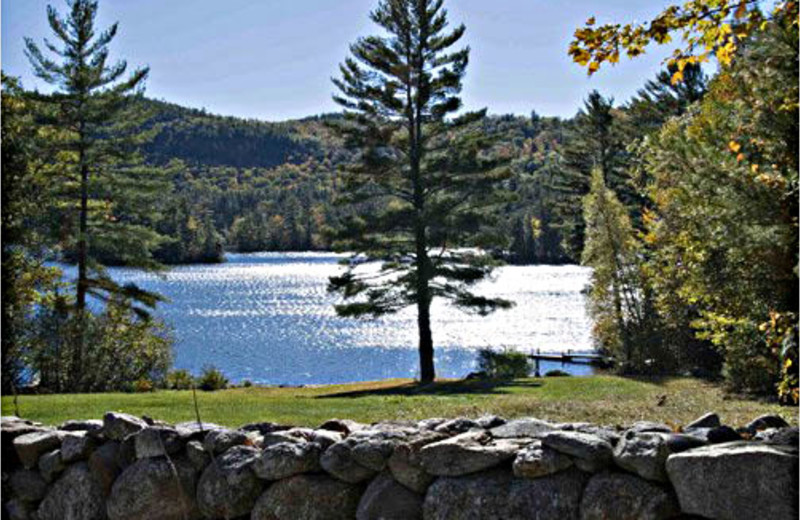 Lake view from Comfort Inn Lakes Region.