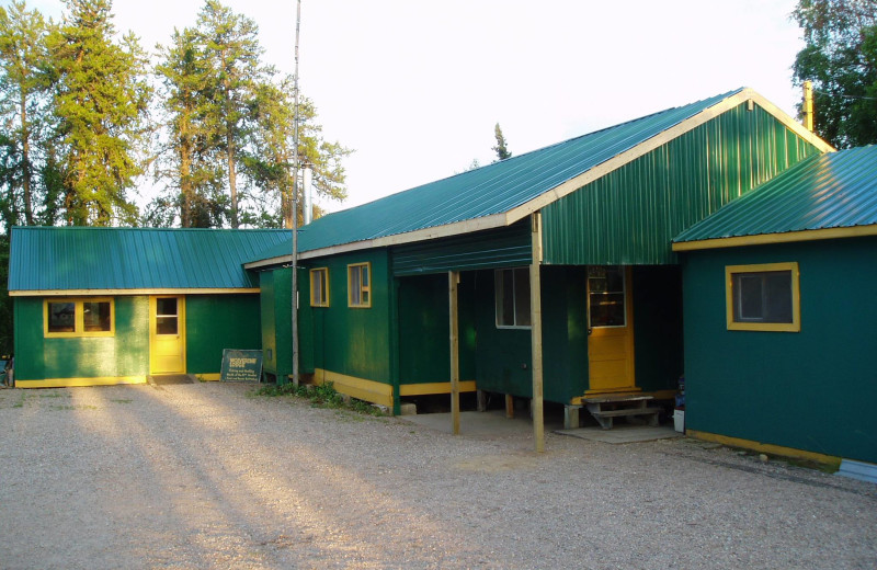 Exterior view of Wolverine Lodge.