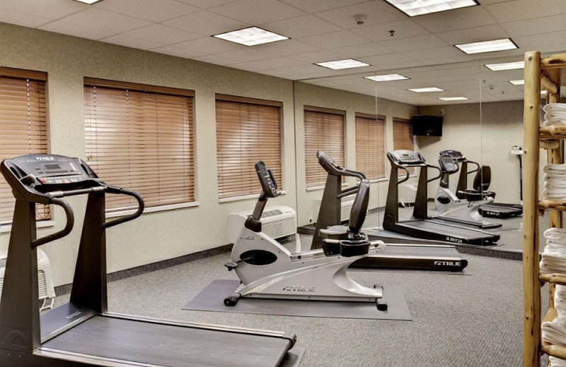 Fitness room at Holiday Inn Express Brainerd.