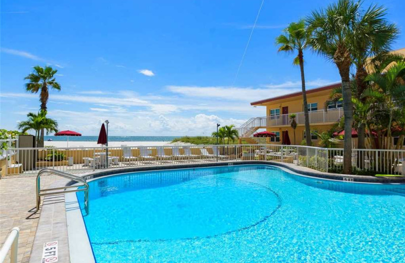Pool at Surf Song Resort Condominiums.