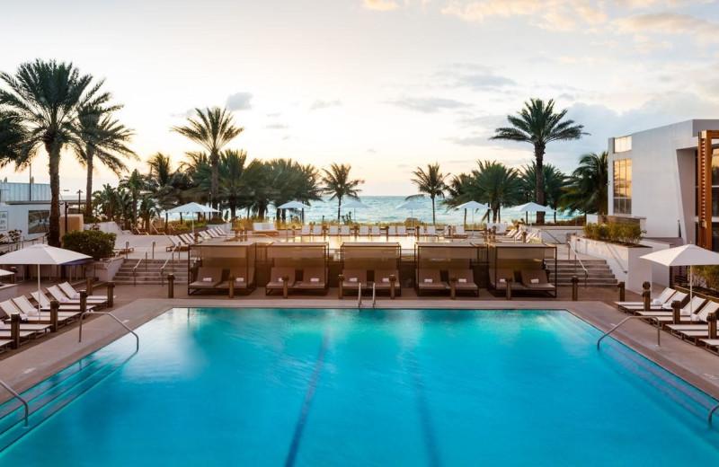 Outdoor pool at Eden Roc Miami Beach.