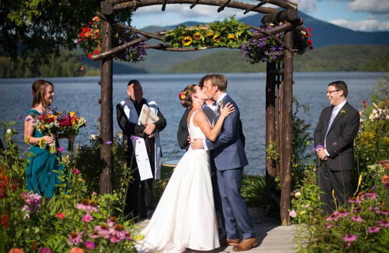 Wedding at Mirror Lake Inn Resort & Spa.