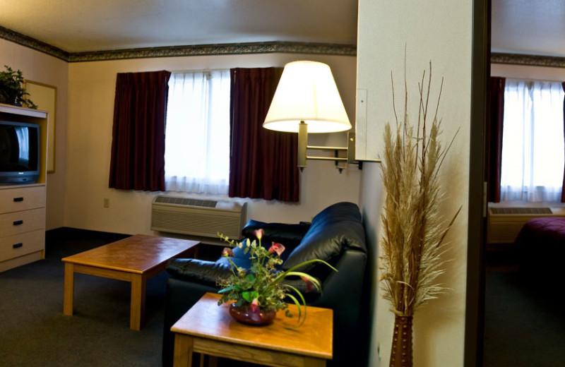 Family suite at The Garibaldi House Inn.