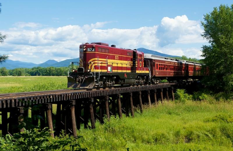 Conway Scenic Railroad near North Conway Lodging.