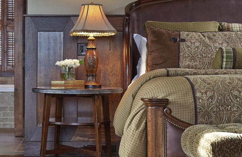 Guest room at Mirror Lake Inn Resort & Spa.