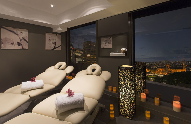 Spa services at Sheraton on the Park.
