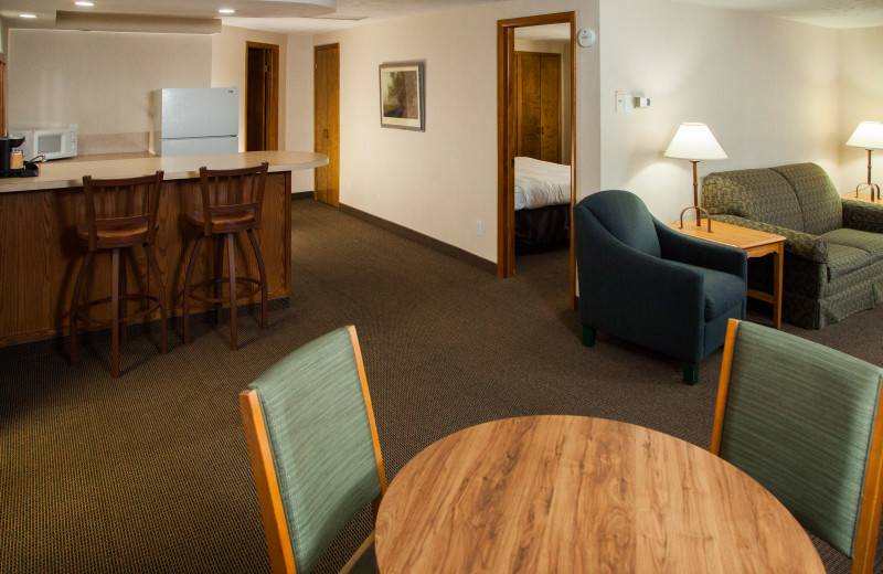 Guest suite at Evergreen Resort.