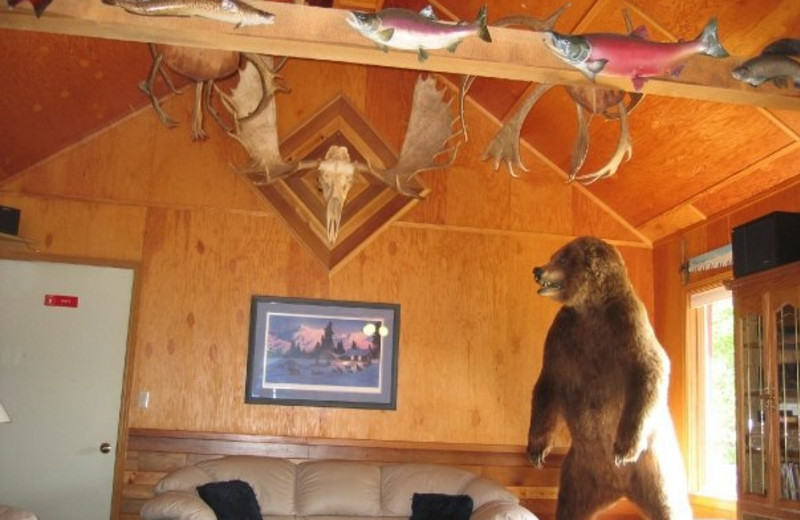 Interior view at Northwoods Lodge.